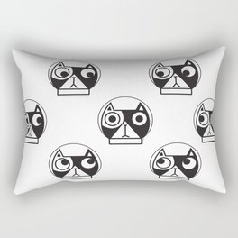 We are watching you. MEOW!!! (Space Cat) Rectangular Pillow