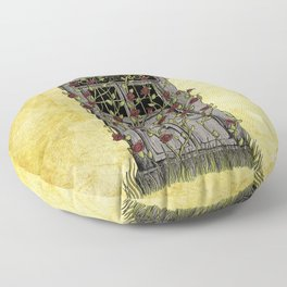 Rose- Doctor Who Floor Pillow