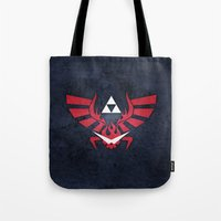 gurren lagann Tote Bags featuring The Legend of Lagann by Bozzman