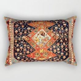 Bakshaish Antique Persian Carpet Print Rectangular Pillow