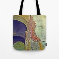 concrete Tote Bags featuring Concrete by RDKL, Inc.