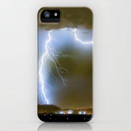 Into the Arizona Monsoon Evening iPhone Case
