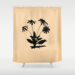Maryland - State Papercut Print Shower Curtain