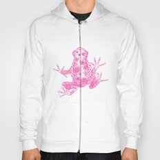 Little Frog Magenta Hoody