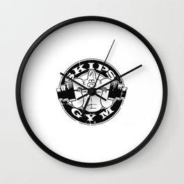 Skip's Gym Wall Clock