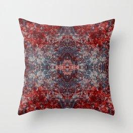Colorful Abstract Bohemian Chic Mandala Star Art - Unduga Throw Pillow