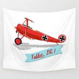 Red Baron's Fokker Dr.I Wall Tapestry