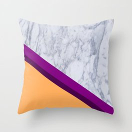 marble design Throw Pillow