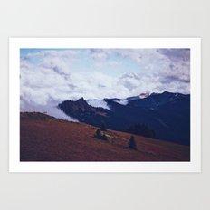 Find Me In Fog Art Print