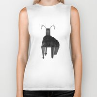 buffalo Biker Tanks featuring Buffalo by Panic Junkie