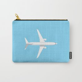 737 Passenger Jet Airliner Aircraft - Sky Carry-All Pouch