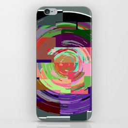 Psychedelic Time Warp Funky Abstract iPhone Skin