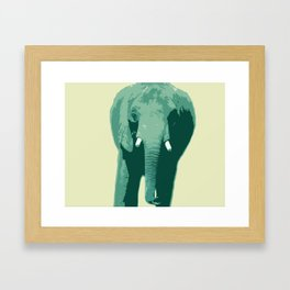 Elephant Tusk Framed Art Print