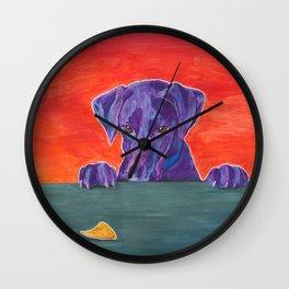 Focus: Resist the Temptation Wall Clock