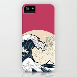 japan manga sea hokusai iPhone Case