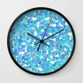 Crystalized 04 Wall Clock