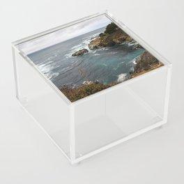 California Coastline Acrylic Box