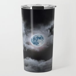 Blue Moon I Wonder Travel Mug