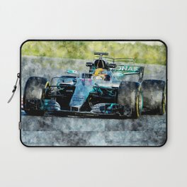 Lewis Hamilton 2017 Laptop Sleeve
