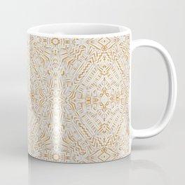Clandestine Orange White Coffee Mug