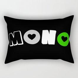 Mono Andro (Androsexual/romantic) Rectangular Pillow
