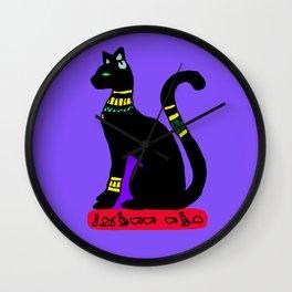 The Egyptian Cat Wall Clock