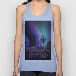 Visions of the Future: The Mighty Jupiter Unisex Tank Top