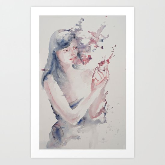 Lot's Wife Art Print