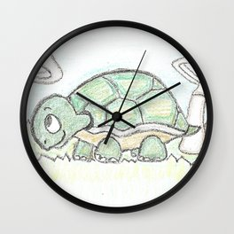 Turtle 2 Wall Clock