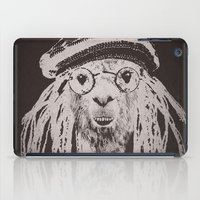funky iPad Cases featuring Funky Llama by Paula Belle Flores