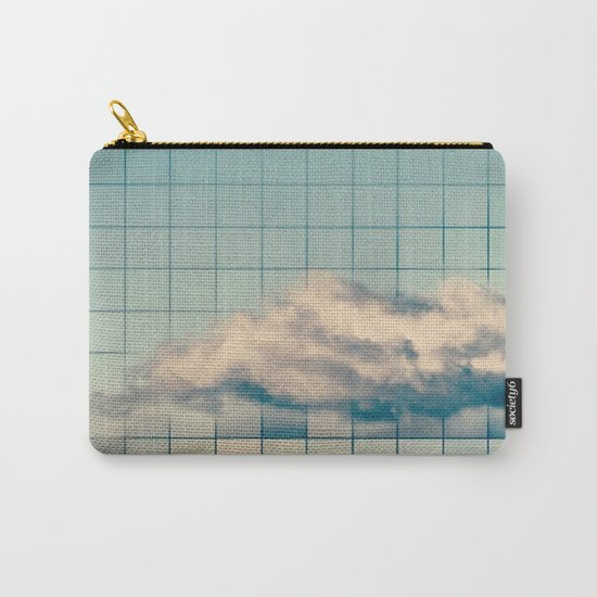 Grid Cloud Carry-All Pouch