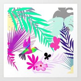 Full Exotic Art Print
