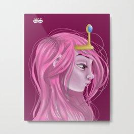 Princess Bubblegum Metal Print