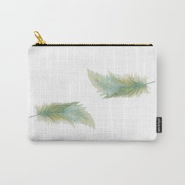 Wanderlusting Feather Carry-All Pouch
