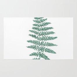 New Zealand Tree Fern Rug