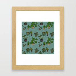 Indoor Plants Framed Art Print