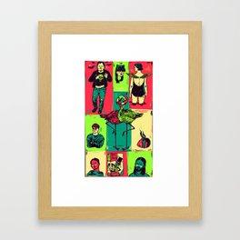 Random_things03.jpg Framed Art Print