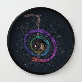 Reiki Snake Wall Clock
