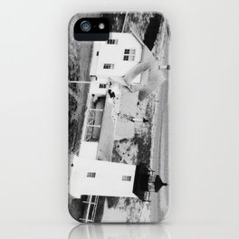 Long Point Lighthouse  iPhone Case