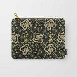 Florid-Facehugger (Black) Carry-All Pouch