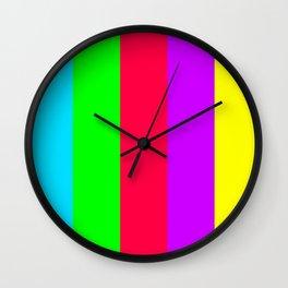 Neon Mix #1 Wall Clock
