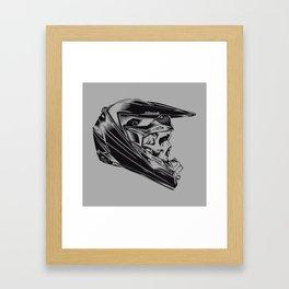 Skullrider Framed Art Print