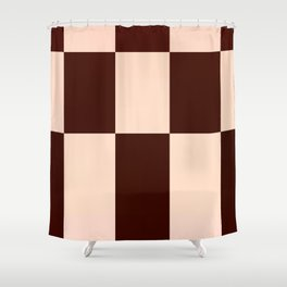 JPEG Compression Quads 2 Shower Curtain
