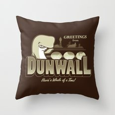 Greetings from Dunwall Throw Pillow
