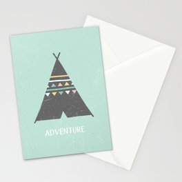 Adventure (tipi) Stationery Cards