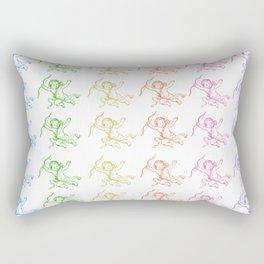 ROCCOC POP ART PATTERN CHERUB Rectangular Pillow