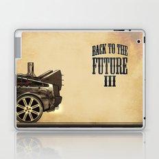 Back to the future III Laptop & iPad Skin
