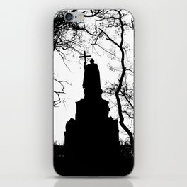 eternal silhouette iPhone Skin