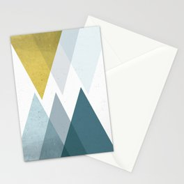 TRIANGLES ABSTRACT Stationery Cards