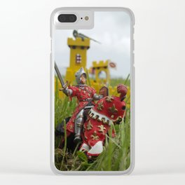 Castle under siege Clear iPhone Case